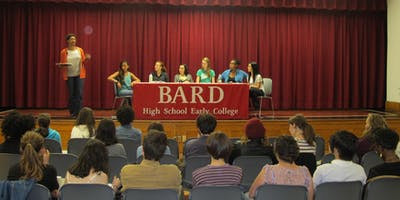 2019 Spring Open House at Bard High School Early College Manhattan Campus