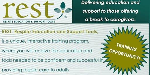 Volunteer Caregiver Respite Training