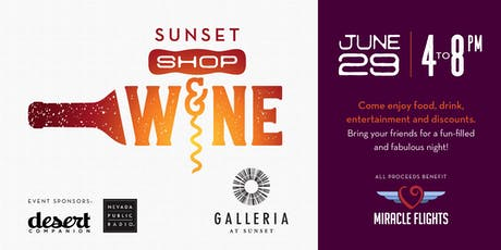 Sunset Shop & Wine tickets