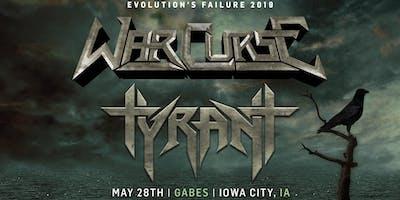 War Curse + Tyrant at Gabes - May 28th