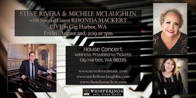 Steve Rivera, Michele McLaughlin and Rhonda Mackert LIVE in Gig Harbor, WA