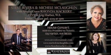 Steve Rivera, Michele McLaughlin and Rhonda Mackert LIVE in Gig Harbor, WA tickets