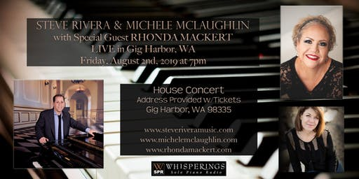 Steve Rivera, Michele McLaughlin and Rhonda Mackert LIVE in Gig Harbor, WA