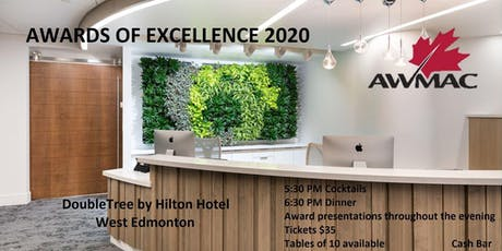 AWMAC Awards of Excellence 2020 tickets