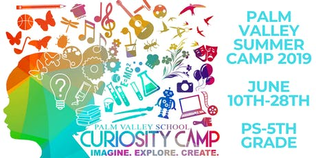 PVS Curiosity Camp - Summer 2019 (Grades PS - 5th) tickets