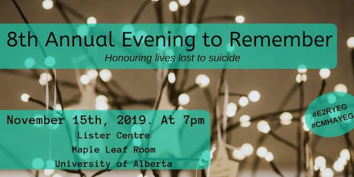 8th Annual Evening to Remember