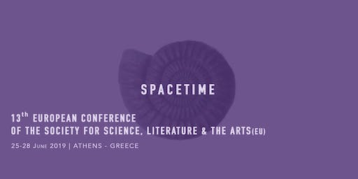 Spacetime - 13th European Conference of the Society for Science, Literature