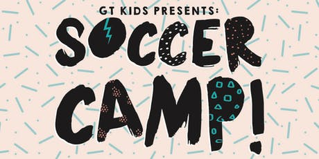 GTKIDS SOCCER CAMP 2019 tickets
