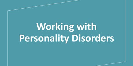 Working with Personality Disorders tickets
