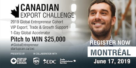 Canadian Export Challenge Accelerator and Pitch Competition - Montréal tickets