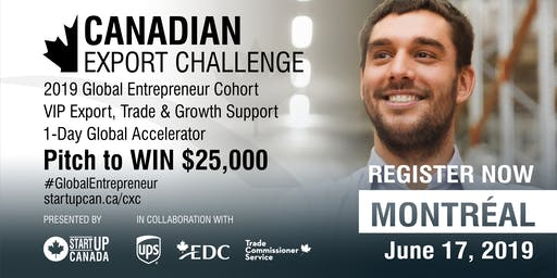 Canadian Export Challenge Accelerator and Pitch Competition - Montréal
