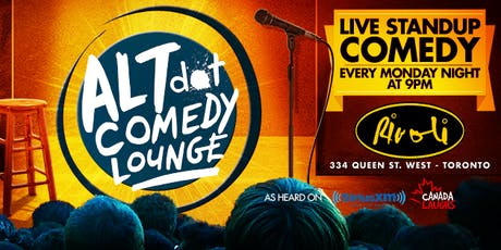 ALTdot Comedy Lounge - July 15 @ The Rivoli tickets