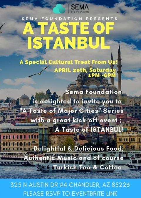 A Taste of Istanbul by Sema Foundation