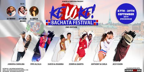 Keloke Bachata Festival 27th-29th of September 2019 tickets