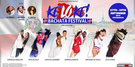 Keloke Bachata Festival 27th-29th of September 2019 tickets