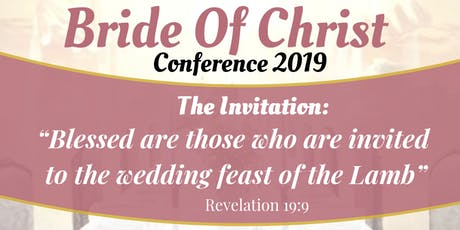 Bride of Christ Conference 2019 tickets