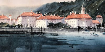 """Painting Loosely"" - Watercolor painting workshop"