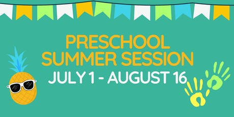 Preschool Summer Session 2019 tickets