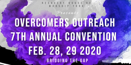 Overcomers 7th Annual World Convention tickets