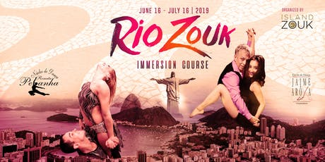 Rio Zouk 30 Day Immersion Course 2019 ingressos