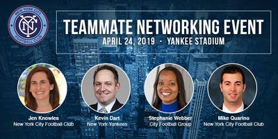 NYCFC Teammate Networking Event Presented by TeamW
