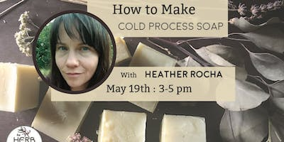 How to Make Cold Process Soap with Heather Rocha