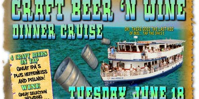 Pizza Plant Craft Beer Boat Cruise