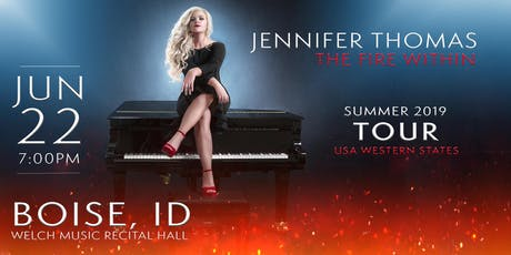 Jennifer Thomas - The Fire Within Tour (Boise, ID) tickets