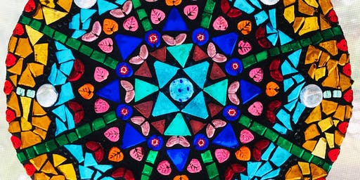 MOSAIC with Mary: Mandala Mosaics in Stained Glass