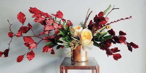 Copper & Oak: A Fall Floral Fun Workshop