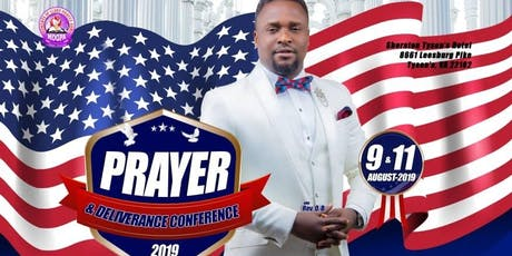 Mogpa North America Prayer & Deliverance Conference 9th & 11th August,2019  tickets
