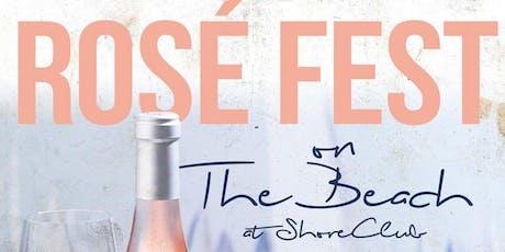 Rosé Fest on the Beach - Chicago Rosé Tasting Festival at North Ave Beach tickets