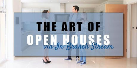 CB Bain | The Art of Open Houses (3 CE-WA) | In-Branch Stream | Sept 26th 2019 tickets
