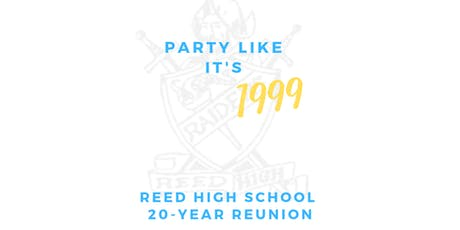 Edward C. Reed High School 20-Year Reunion tickets