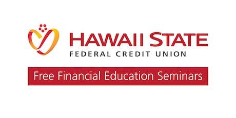 Understanding Your Credit Score Seminar tickets