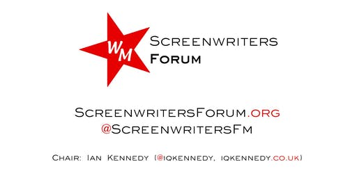 Screenwriters' Forum Writing Retreat - 28th-29th September 2019