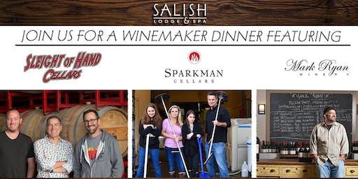 Winemaker Dinner Featuring: Mark Ryan, Sleight of Hand, & Sparkman Cellars