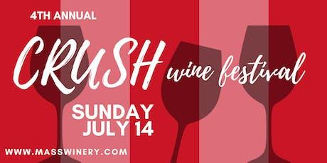 Crush Wine Festival 2019 tickets