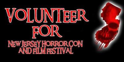 Volunteer Registration FALL 2019 - New Jersey Horror *** and Film Festival