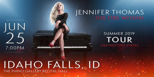 Jennifer Thomas - The Fire Within Tour (Idaho Falls, ID)