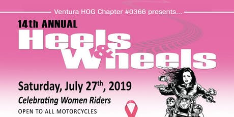 Heels and Wheels Ride 2019 tickets