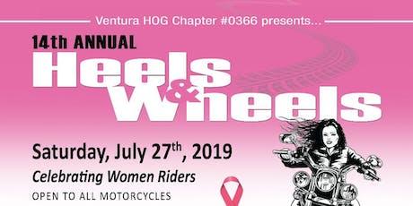Heels and Wheels Ride 2019 boletos