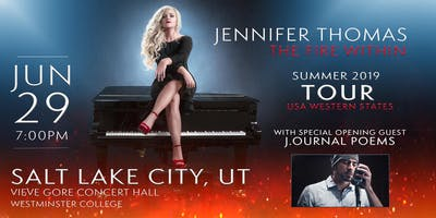Jennifer Thomas - The Fire Within Tour (Salt Lake City, UT)- Ft. J.ournal Poems