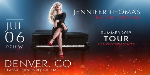 Jennifer Thomas - The Fire Within Tour (Denver, CO)
