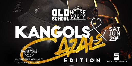 OLD SCHOOL HOUSE PARTY VOL 4 - KANGOLS & CAZALS