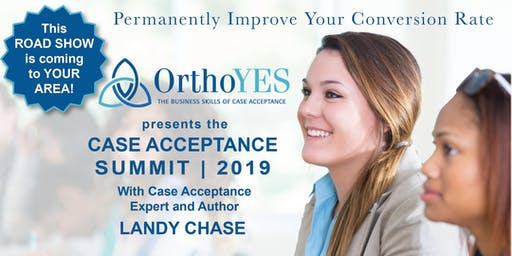 2019 Kansas City Case Acceptance Summit with Landy Chase