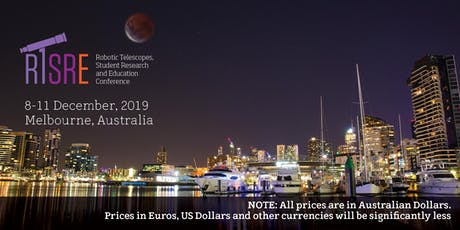 Robotic Telescopes, Student Research and Education Conference (RTSRE)  tickets