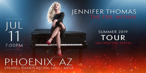 Jennifer Thomas - The Fire Within Tour (Phoenix, AZ)