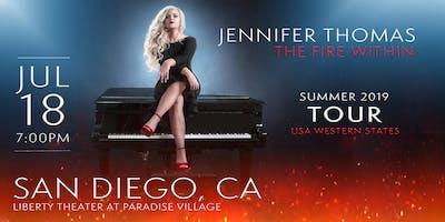 Jennifer Thomas - The Fire Within Tour (San Diego, CA)