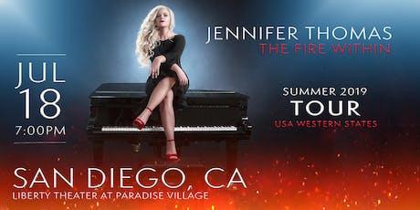 Jennifer Thomas - The Fire Within Tour (San Diego, CA) tickets